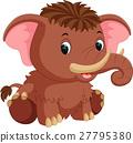mammoth cartoon 27795380