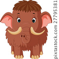 mammoth cartoon 27795381
