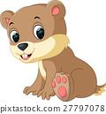 Cartoon chipmunk 27797078