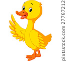 duck cartoon 27797212