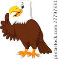 cute eagle cartoon 27797331