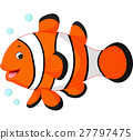 fish, clown, cute 27797475