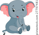 cute elephant cartoon 27797481
