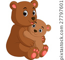 funny bear Cartoon 27797601