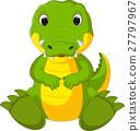 cartoon, crocodile, cute 27797967