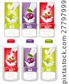 milk label pour 27797999