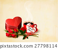 holiday valentine background 27798114