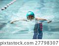 競泳 平泳ぎ 27798307