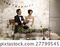婚礼 新郎 新娘 27799545