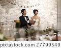 婚礼 新郎 新娘 27799549