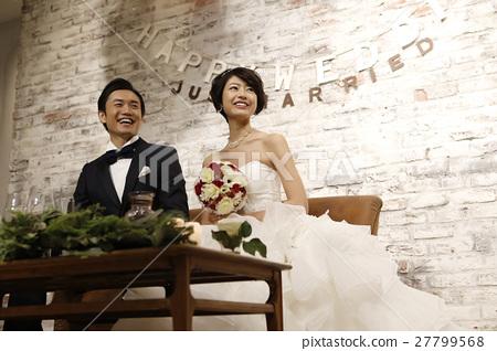 婚礼 新郎 新娘 27799568