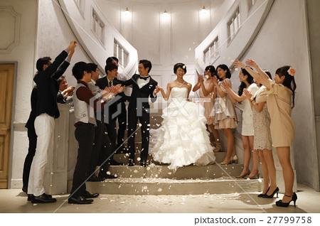 婚礼 新郎 新娘 27799758
