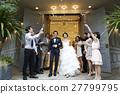 婚礼 新郎 新娘 27799795