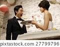 婚禮 新郎 新娘 27799796