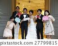 婚礼 新郎 新娘 27799815