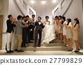 婚礼 花淋浴 伙伴 27799829