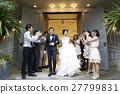 婚礼 新郎 新娘 27799831