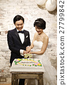 婚禮 新郎 新娘 27799842
