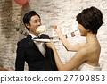 婚禮 新郎 新娘 27799853