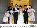 婚礼 新郎 新娘 27799860