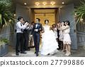 婚礼 新郎 新娘 27799886