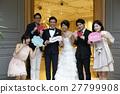 婚礼 新郎 新娘 27799908