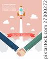 Handshake deal startup business 27800272