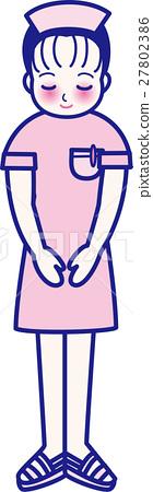 护士 女生 女孩 27802386