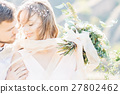 wedding, couple, woman 27802462