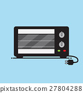 Electric ovens vector design. 27804288