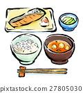 早餐 早飯 日本料理 27805030