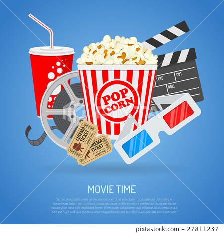 Cinema and Movie time 27811237