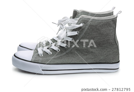 Pair of canvas sport shoes 27812795