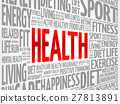 Health word cloud background 27813891