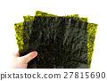 紫菜 烤紫菜 食物 27815690