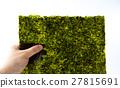 紫菜 烤紫菜 食物 27815691