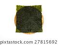 紫菜 烤紫菜 食物 27815692