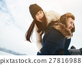 winter happiness couple 27816988