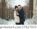 winter happiness couple 27817033