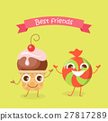 Best Friends Caramel Candy and Cupcake Characters 27817289