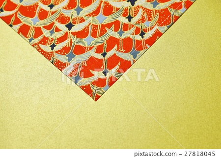 Gorgeous and chic postcard background material · Red type