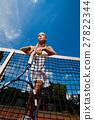 Sporty woman 27822344