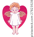 Cupid, angel, baby 27823028