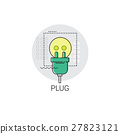 Plug Internet Connection Electricity Energy Icon 27823121