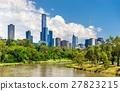 Skyscrapers of Melbourne CBD in Australia 27823215