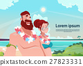 Couple On Summer Vacation Holiday Tropical Ocean 27823331