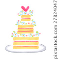 婚禮蛋糕 蛋糕 婚禮 27824047