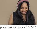adult, african, listen 27828514