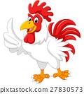 수탉, 닭, 만화 27830573