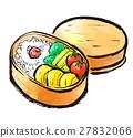 bento, box lunch, japanese food 27832066